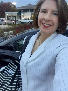 Pantsuit Nation selfie, Election Day 2016